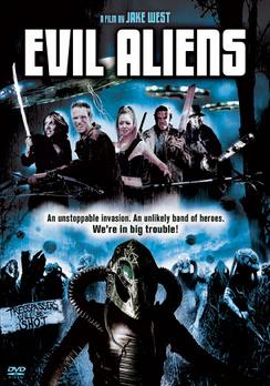 Cover til Evil Aliens